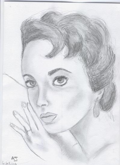 Elizabeth Taylor by LiiSs